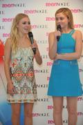 AnnaSophia Robb & Lorraine Nicholson - Meet & Greet at Teen Vogue Haute Spot 04/02/11