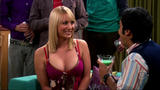 "Kaley Cuoco Cleavage Caps From ""Big Bang Theory"""