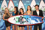Эшли Бенсон, фото 12. Ashley Benson, Lucy Hale, Shay Mitchell & Troian Avery Bellisario at the 2010 Teen Choice Awards 08-08, photo 12