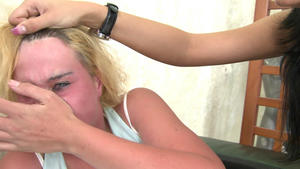 Hunt Erotic: Faceslapping -By Domina Sorana And Her Slave Gina
