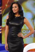 Меган Гэйл, фото 244. Megan Gale on Italian tv show 'Verissimo' - 04/11/11, foto 244