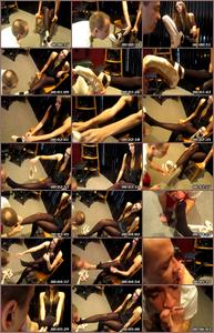 Service My Ballet Shoes And Feet Female Domination
