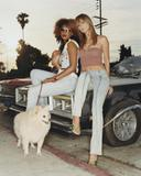 Heidi Klum white top is painted on Foto 722 (Хайди Клум белый верх изображено на Фото 722)