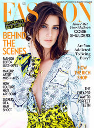 Cobie Smulders - Fashion Magazin April 2014 -x4